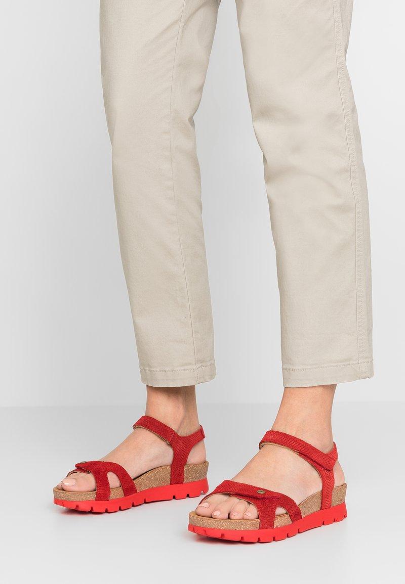 Panama Jack - SULIA MENORCA - Platform sandals - rojo/red