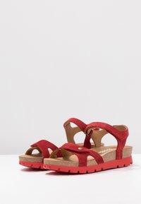Panama Jack - SULIA MENORCA - Platform sandals - rojo/red - 4
