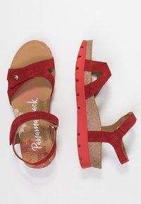 Panama Jack - SULIA MENORCA - Platform sandals - rojo/red - 3