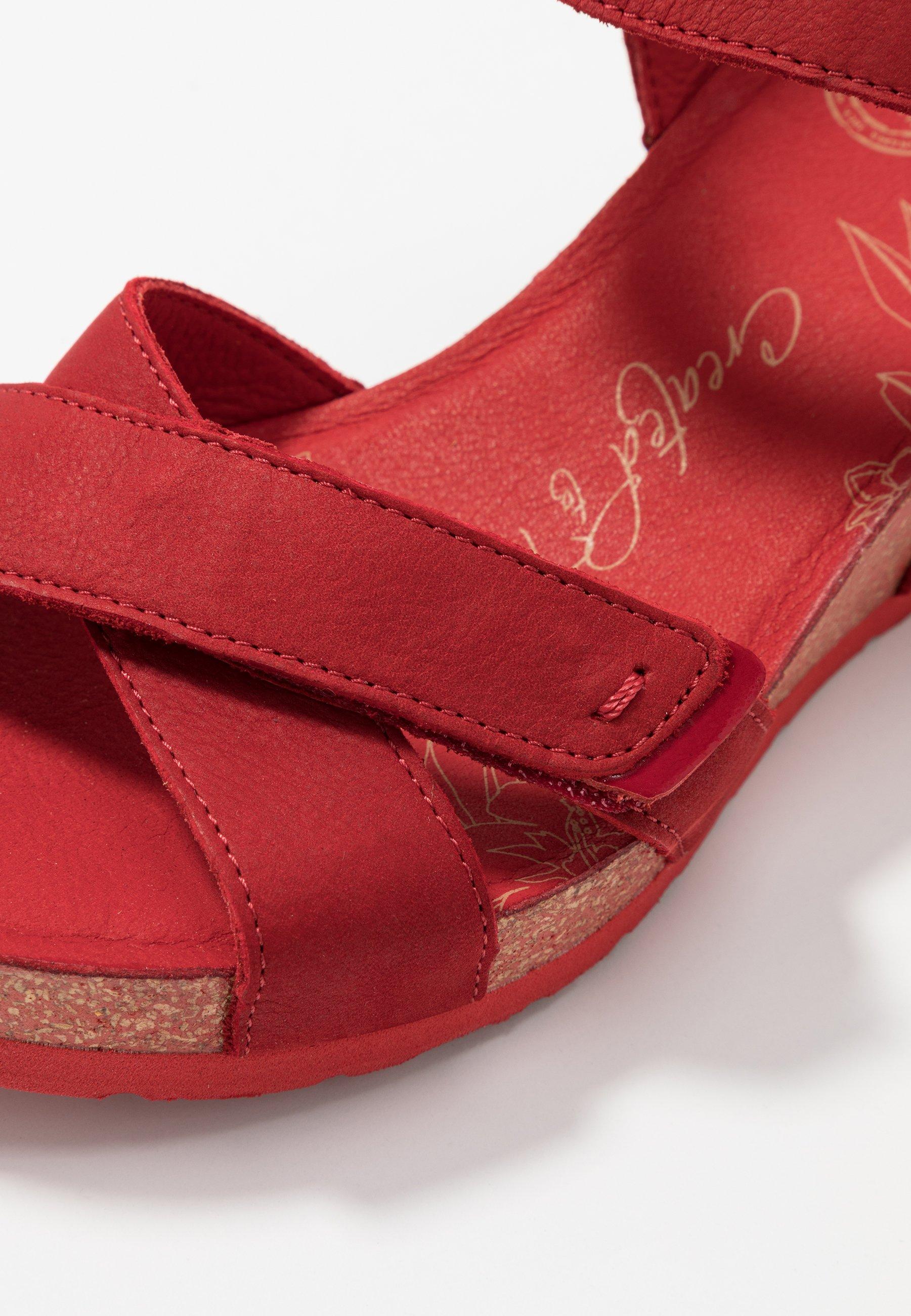 Panama Jack Vieri Basics - Plateausandalette Rot