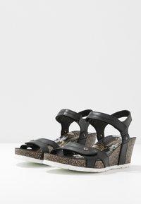 Panama Jack - JULIA BOULEVARD - Sandalias de cuña - schwarz - 3