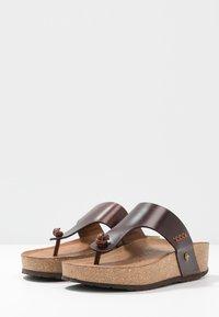Panama Jack - QUINOA CLAY - Sandalias de dedo - brown - 4