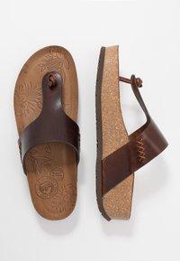Panama Jack - QUINOA CLAY - Sandalias de dedo - brown - 3