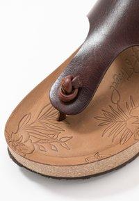 Panama Jack - QUINOA CLAY - Sandalias de dedo - brown - 2
