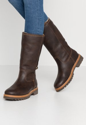 BAMBINA - Vinterstøvler - grass marron