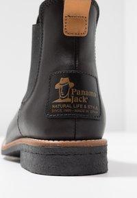 Panama Jack - GIORDANA IGLOO TRAVELLING - Kotníková obuv - black - 2