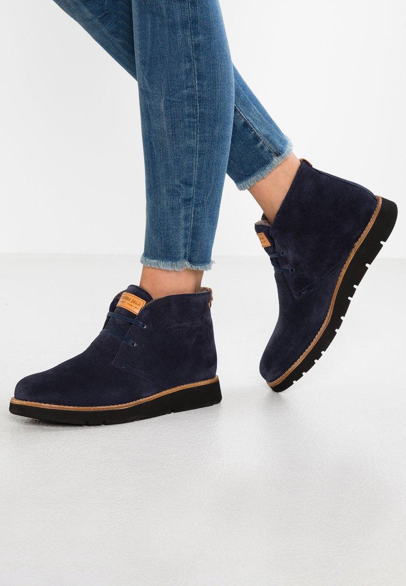 Panama Jack - CLARISSE IGLOO - Ankle boots - navy