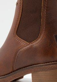 Panama Jack - PIA - Kotníkové boty na platformě - grass/bark - 2