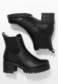 Panama Jack - PIA - Platåstøvletter - black - 3
