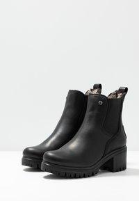 Panama Jack - PIA - Platåstøvletter - black - 4