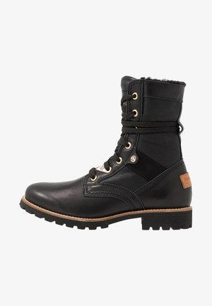 ROUTE BOOT IGLOO TRAVELLING - Bottines à lacets - black