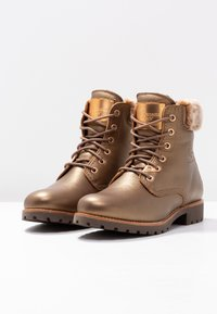 Panama Jack - IGLOO - Bottines à lacets - bronze - 4