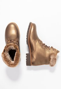 Panama Jack - IGLOO - Bottines à lacets - bronze - 3