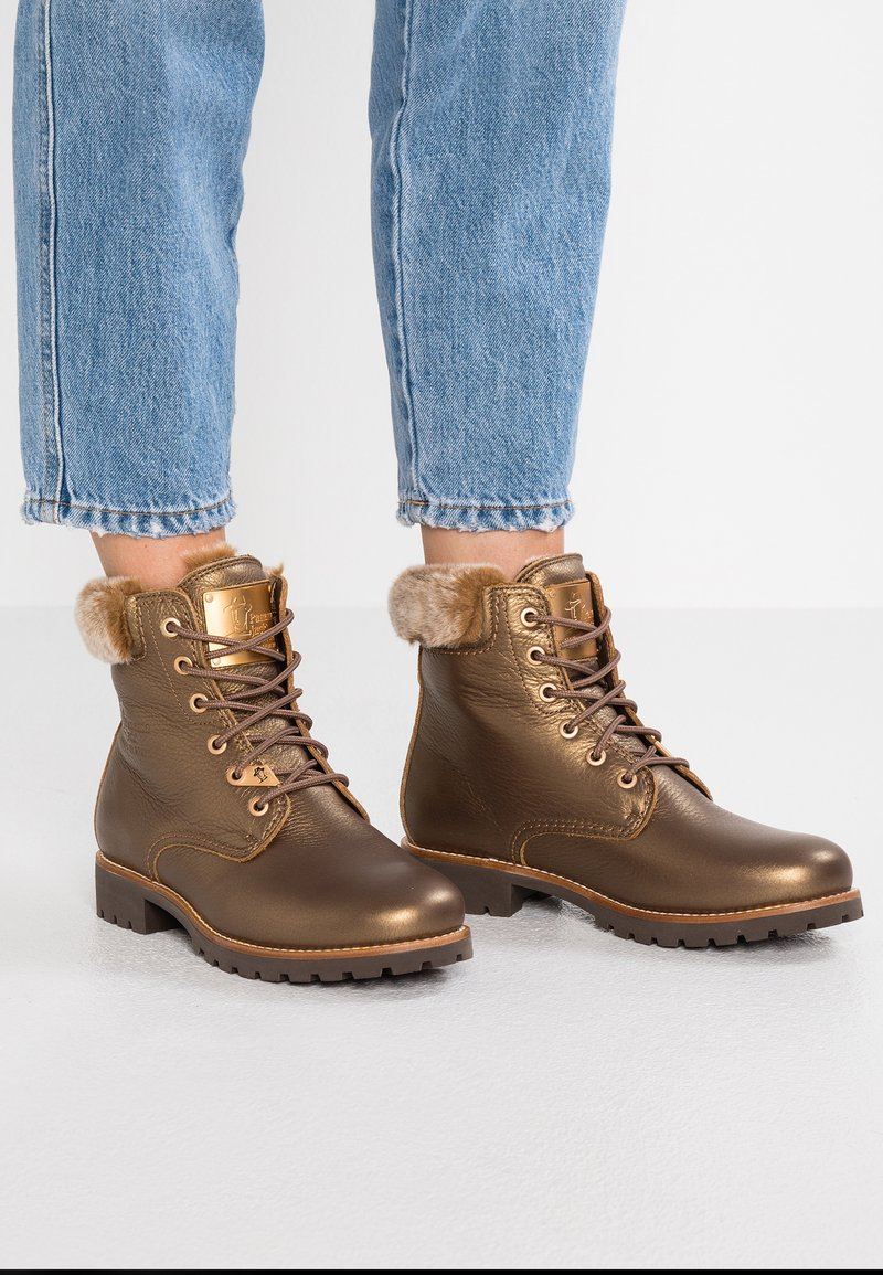 Panama Jack - IGLOO - Bottines à lacets - bronze