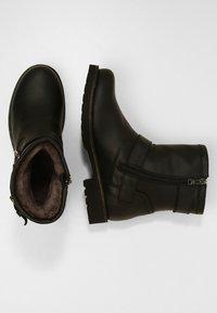 Panama Jack - FELINA IGLOO - Cowboy/biker ankle boot - black - 3