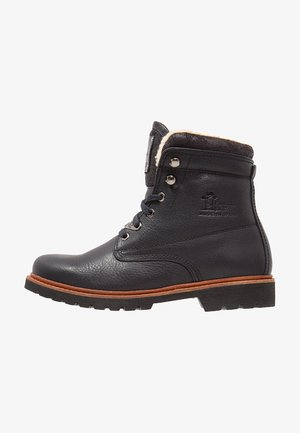 AVIATOR - Bottines à lacets - black