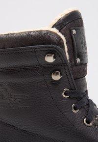 Panama Jack - AVIATOR - Bottines à lacets - black - 5