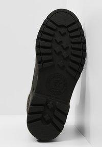 Panama Jack - AVIATOR IGLOO - Lace-up ankle boots - black - 4