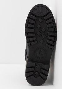 Panama Jack - IGLOO - Bottines à lacets - black - 4