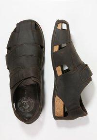 Panama Jack - FLETCHER BASIC  - Sandalias de senderismo - brown - 1