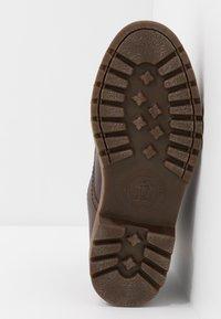 Panama Jack - THUNDER - Schnürstiefelette - brown - 4