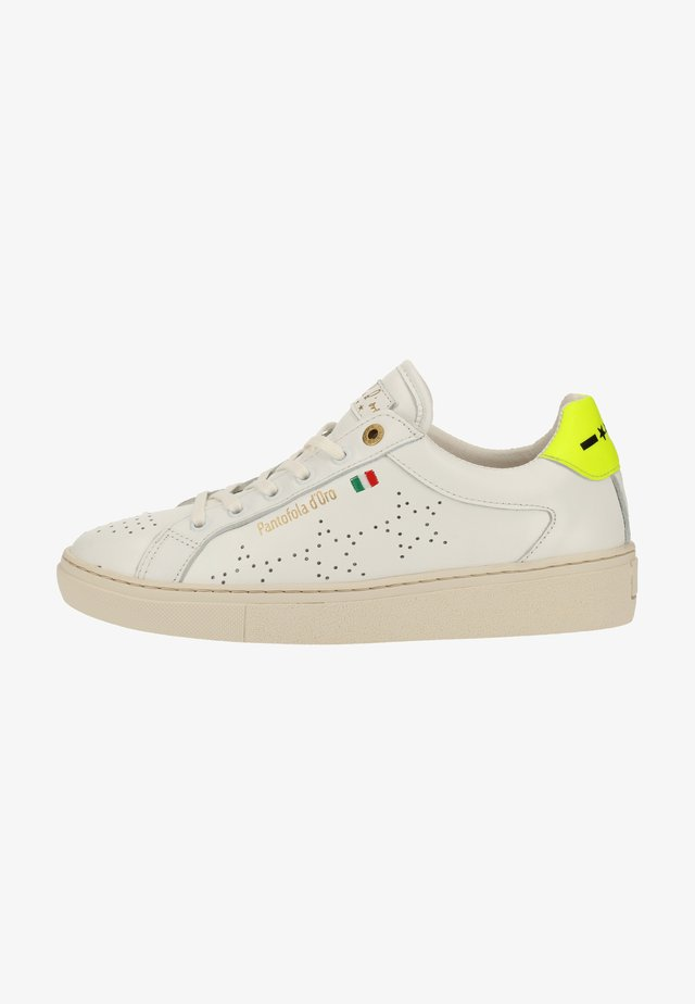 Sneaker low - bright white/neon yellow