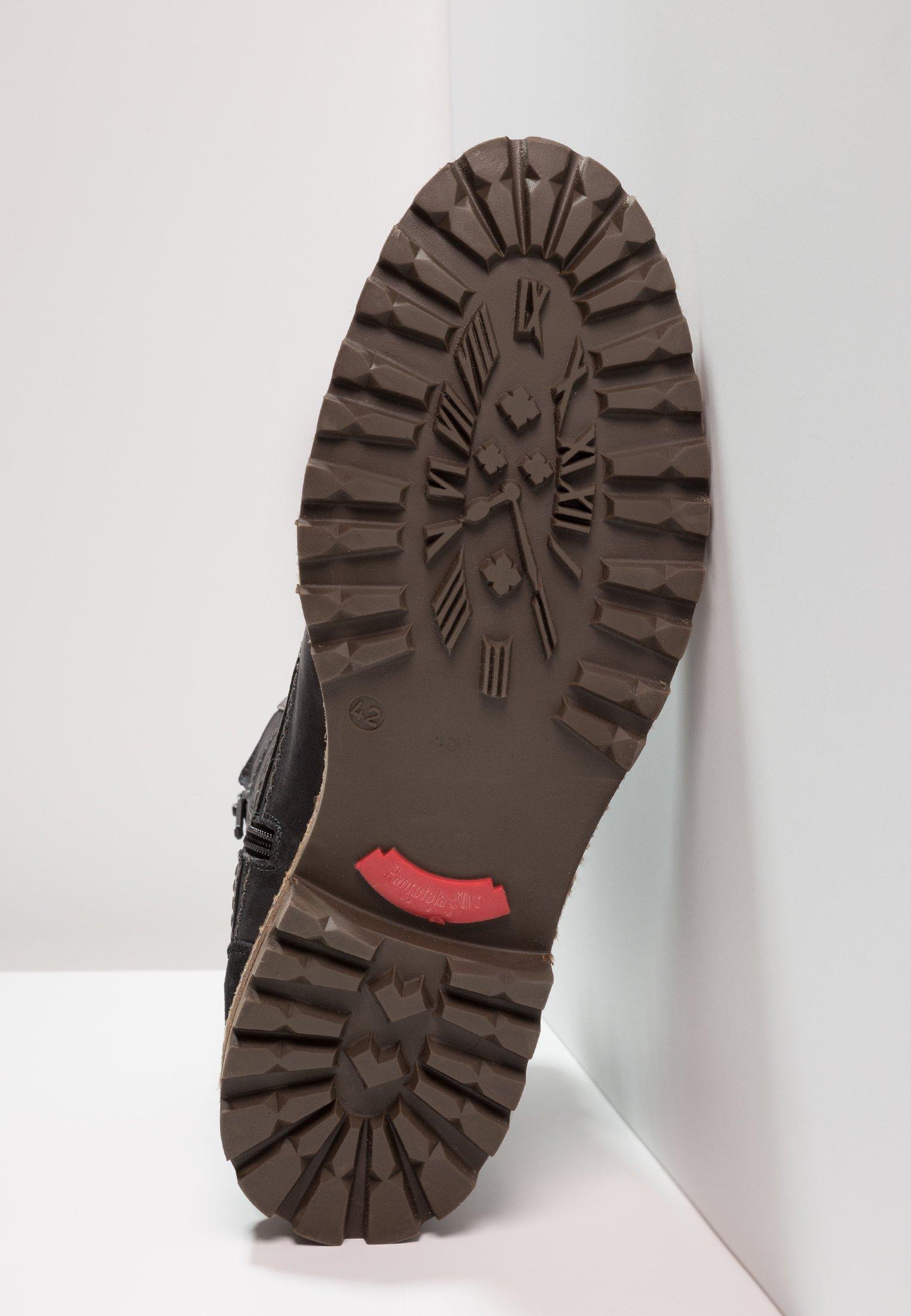 HighBottines Lacets Pantofola D`oro Black Ponzano À Uomo PkTOZuXi
