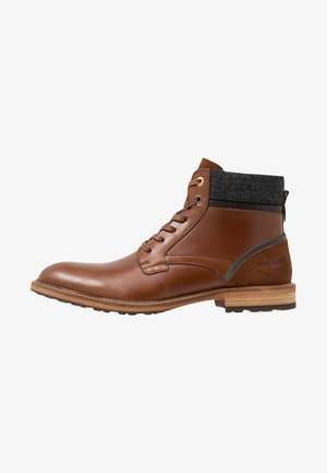 PIZZOLI UOMO HIGH - Lace-up ankle boots - tortoise shell
