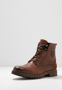 Pantofola d'Oro - PONZANO UOMO HIGH - Lace-up ankle boots - tortoise shell - 2