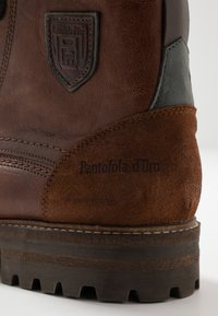 Pantofola d'Oro - PONZANO UOMO HIGH - Lace-up ankle boots - tortoise shell - 5