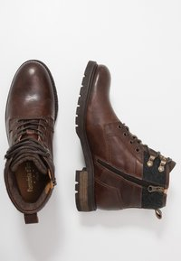 Pantofola d'Oro - LEVICO UOMO HIGH - Lace-up ankle boots - coffee bean - 1