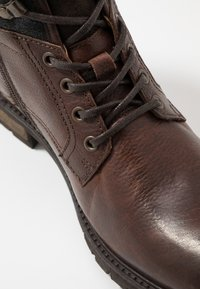 Pantofola d'Oro - LEVICO UOMO HIGH - Lace-up ankle boots - coffee bean - 5
