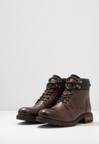 Pantofola d'Oro - LEVICO UOMO HIGH - Lace-up ankle boots - coffee bean - 2