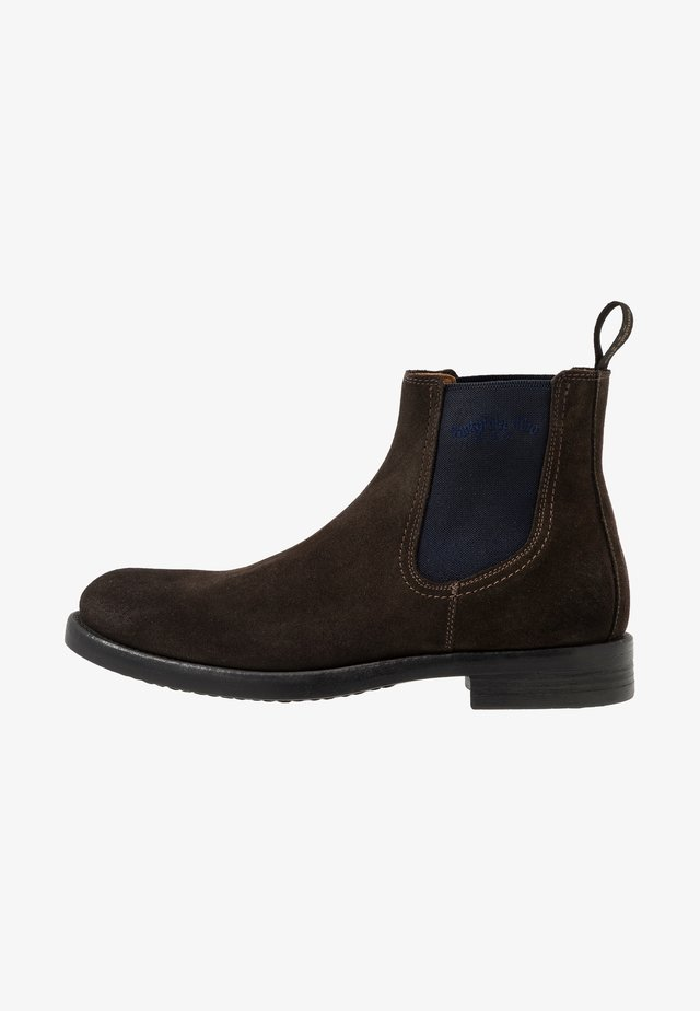 LUKE CHELSEA UOMO HIGH - Classic ankle boots - coffee bean