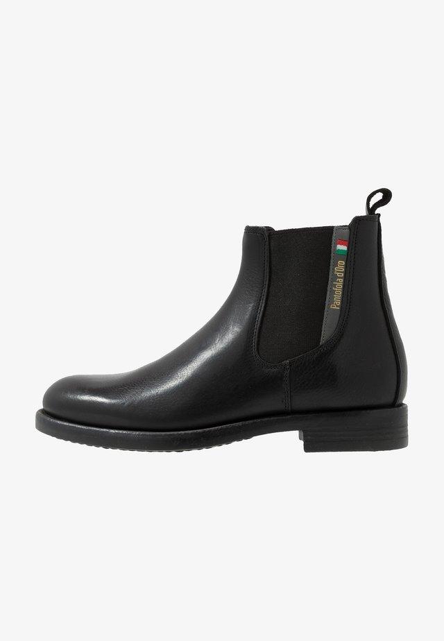 LUKE CHELSEA UOMO HIGH - Classic ankle boots - black