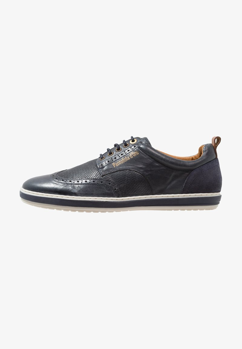 Pantofola d`Oro - MILAZZO UOMO - Casual lace-ups - dress blues