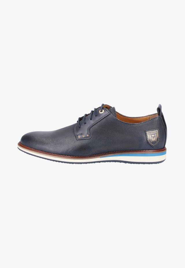 FIUGGI UOMO - Chaussures à lacets - blue