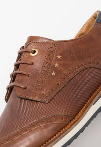 Pantofola d'Oro - RUBICON UOMO LOW - Casual lace-ups - tortoise shell - 5