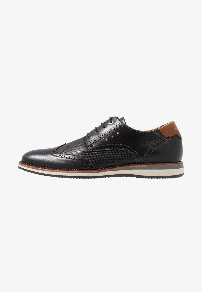 Pantofola d`Oro - RUBICON UOMO LOW - Sportlicher Schnürer - black