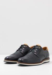 Pantofola d'Oro - RUBICON UOMO - Snøresko - dress blues - 2
