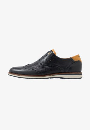 RUBICON UOMO - Lace-ups - dress blues