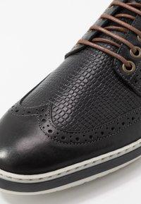 Pantofola d'Oro - MILAZZO UOMO - Nauhakengät - black - 5