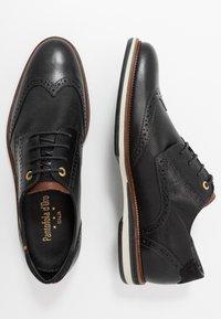 Pantofola d'Oro - RUBICON UOMO LOW - Nauhakengät - black - 1