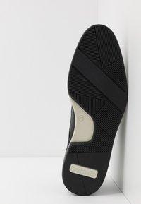 Pantofola d'Oro - RUBICON UOMO LOW - Nauhakengät - black - 4