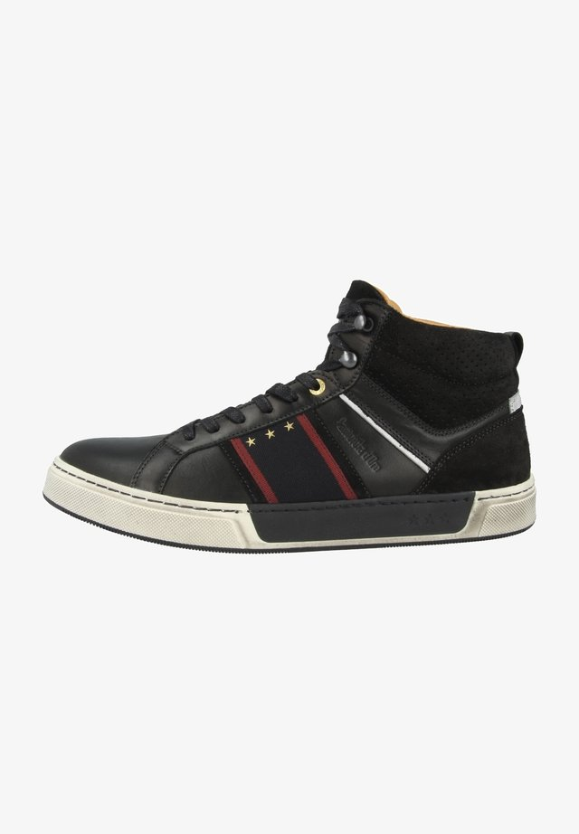 CERVARO UOMO MID - Sneakersy wysokie - black