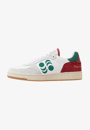 MARACANA UOMO  - Matalavartiset tennarit - bright white/green/red