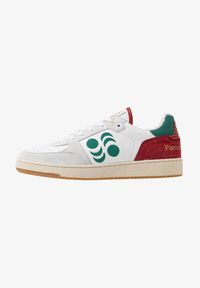 MARACANA UOMO  - Trainers - bright white/green/red