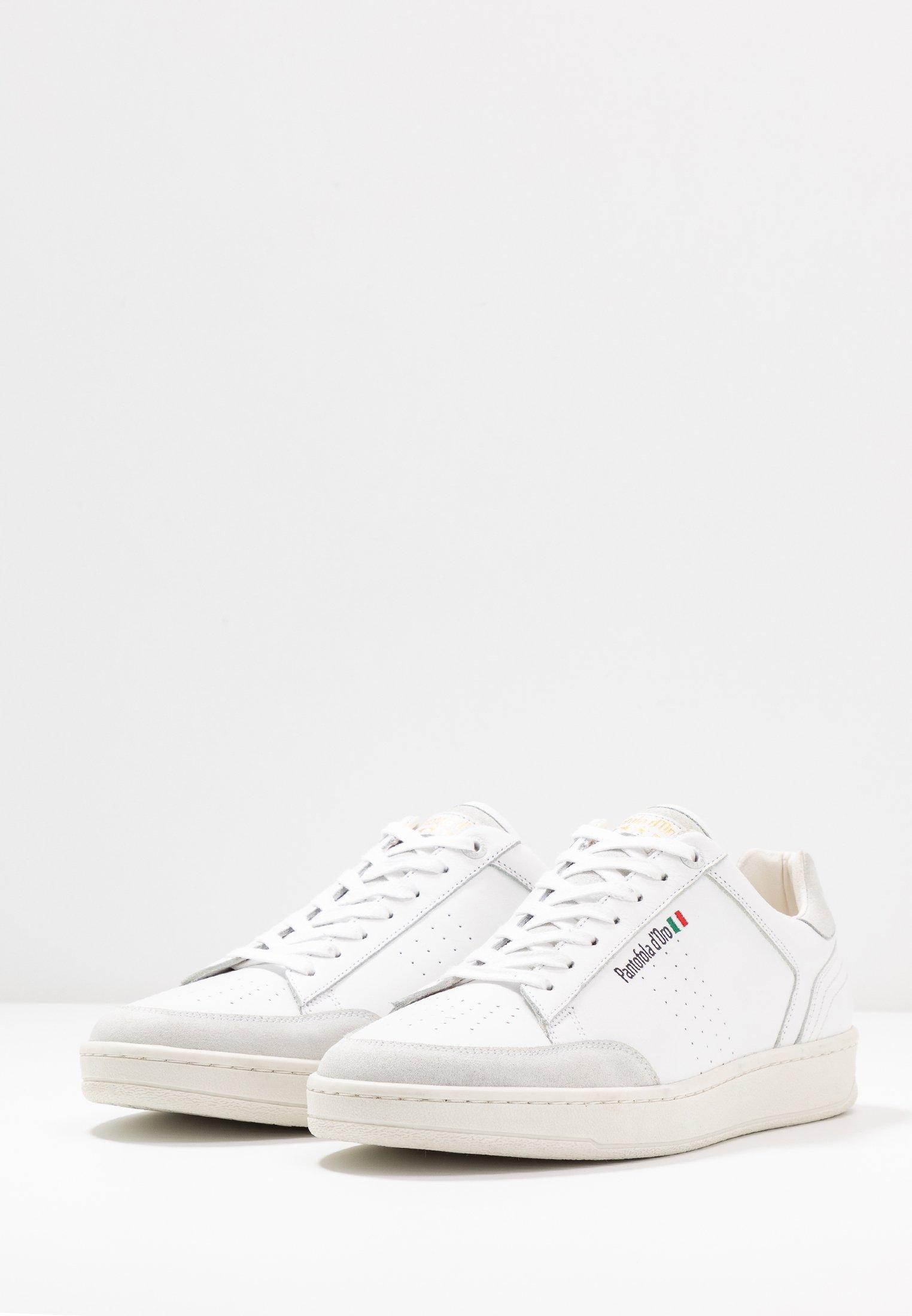 Pantofola d'Oro CALTARO UOMO - Sneakersy niskie - bright white