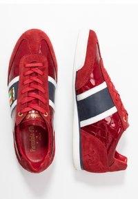 Pantofola d'Oro - FORTEZZA UOMO - Trainers - racing red - 1