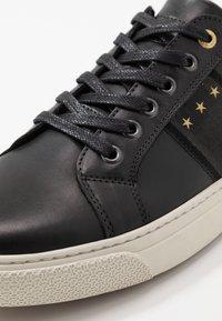 Pantofola d'Oro - NAPOLI UOMO - Matalavartiset tennarit - black - 5
